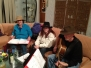 February 12, 2012  -  The Wandering Jews Practice Their Music